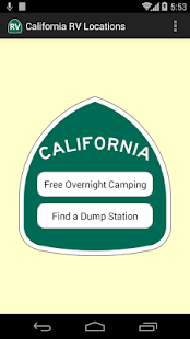 California RV Locations – Apps on Google Play