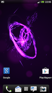Energy Flow Live Wallpaper - screenshot