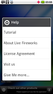 Live Fireworks- screenshot thumbnail