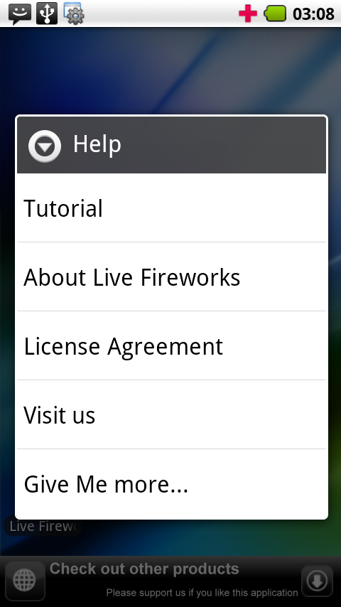 Live Fireworks - screenshot