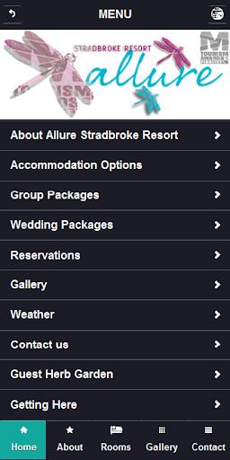 【免費旅遊App】Allure Stradbroke Resort-APP點子
