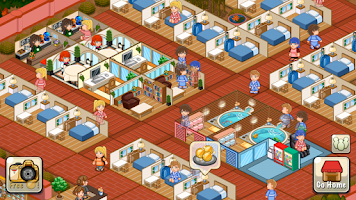 Screenshot of Hotel Story: Resort Simulation