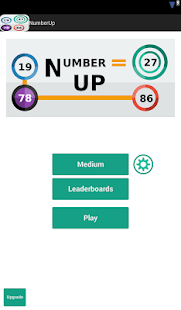 Number Up: The cool math game - screenshot thumbnail