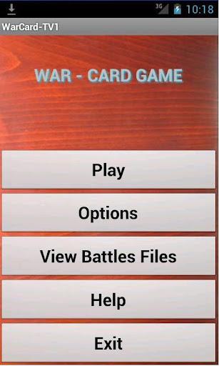 【免費紙牌App】War Card Game-APP點子