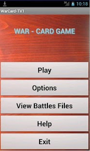 War Card Game - screenshot thumbnail