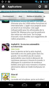 Les Applications Android (LAA)- screenshot thumbnail