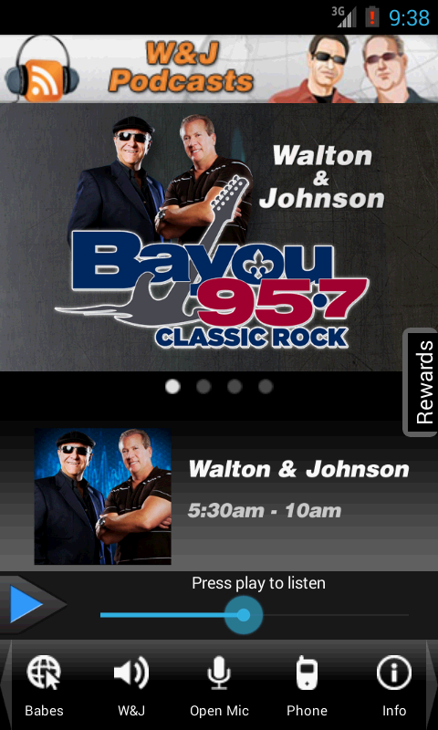 Bayou 95.7 New Orleans - screenshot