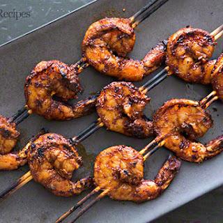 Smoky Paprika Shrimp Skewers.