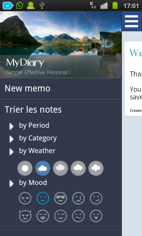 My Diary - Private Journal - screenshot