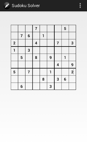 Sudoku Solver - 스도쿠 풀기