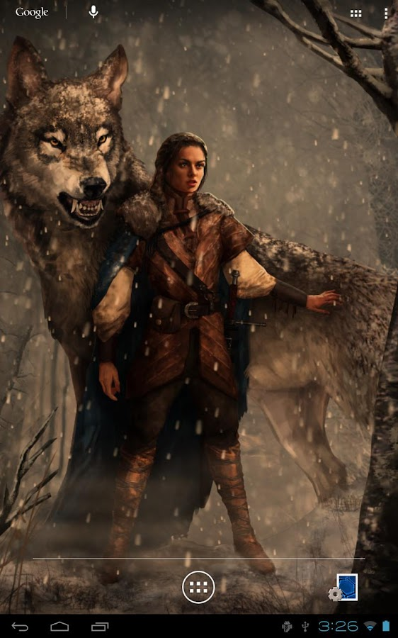 Arya Stark Game of Thrones LWP - screenshot