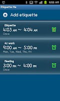 Screenshot of Silent Timer, Sleep Timer Lite