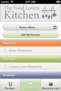 myKitchen - screenshot thumbnail