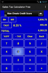 Sales Tax Calculator Free screenshot 0