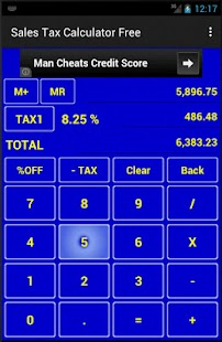 sales tax calculator free screenshot