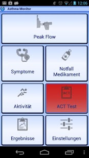 Asthma Monitor - screenshot thumbnail