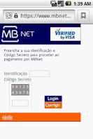 Screenshot of MBnet Shortcut