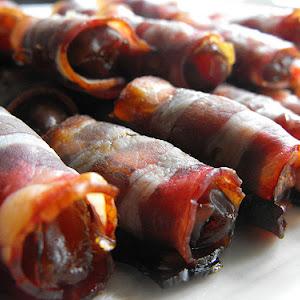 Bacon Date Rolls