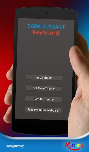 Dark Elegant Keyboard