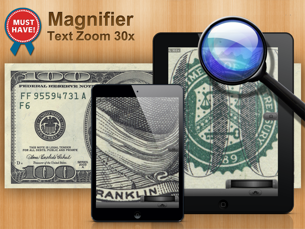 Magnifier 30x Zoom- screenshot