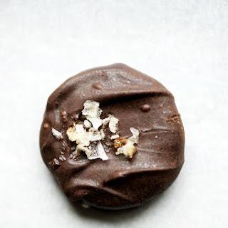 Chocolate Dipped Grahams with Smoked Sea Salt