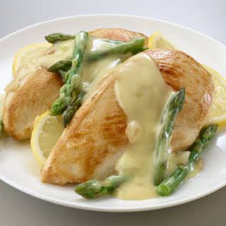 Savory Chicken & Asparagus Hollandaise.