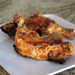 Oven Fried Chicken Leg Quarters