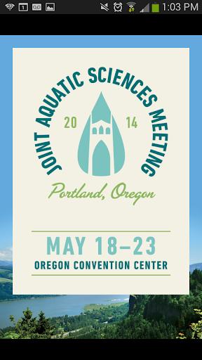 Joint Aquatic Sciences 2014
