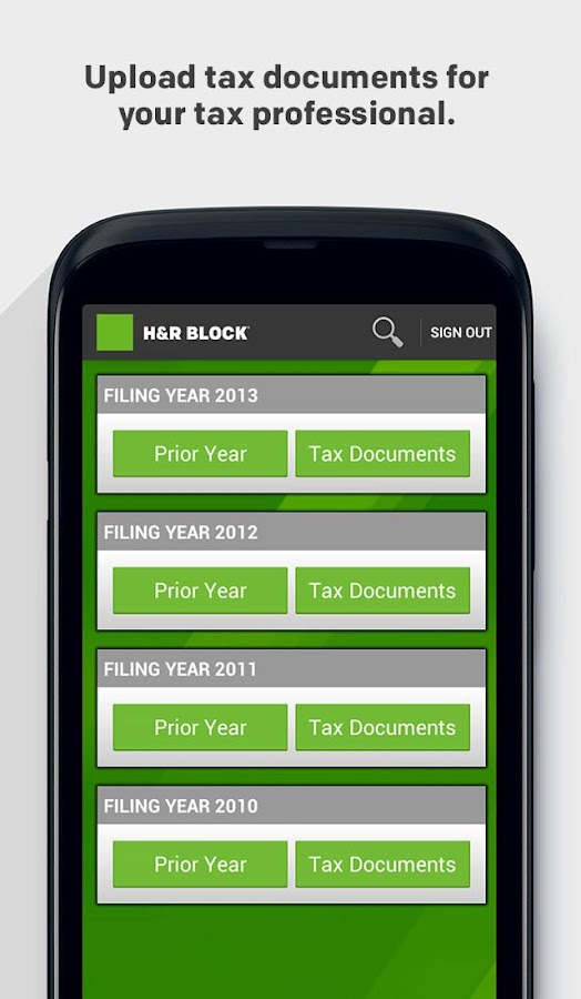 H&R Block - screenshot