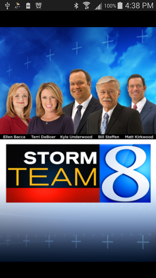 Storm Team 8 - WOODTV8 Weather- screenshot