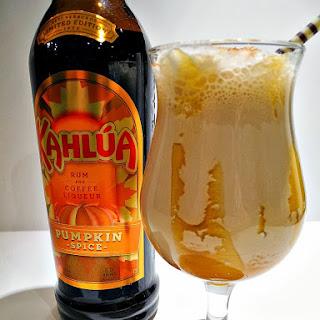 Kahlua Pumpkin Spice Caramel Mudslide