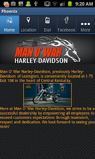 Man O' War Harley-Davidson - screenshot thumbnail