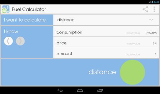 Fuel Calculator  screenshots 9