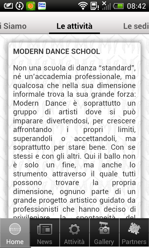Modern Dance - screenshot