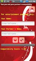 Screenshot of Wish Your Valentine