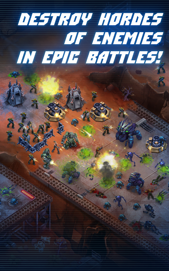 Screenshots of Under Fire: Invasion for iPhone