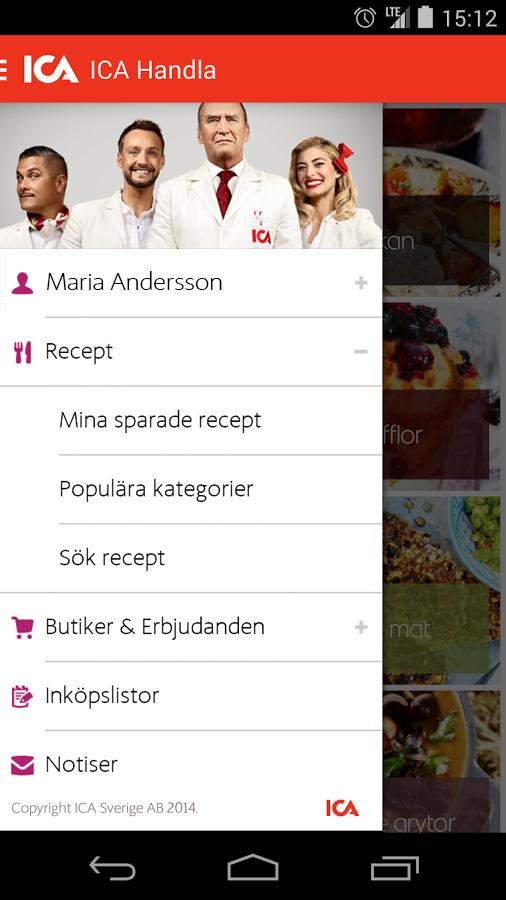 ICA Handla - screenshot