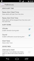 Screenshot of Australia News Alerts