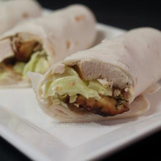 Chipotle Chicken Wraps.