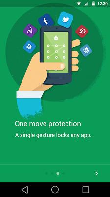 Droid Applocker - screenshot