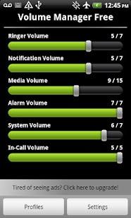 Volume Control Manager Free - screenshot thumbnail