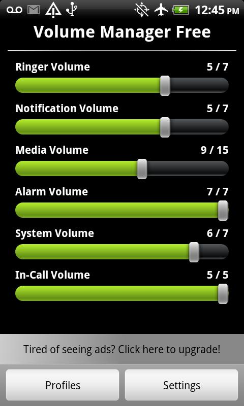 Volume Manager Free - screenshot