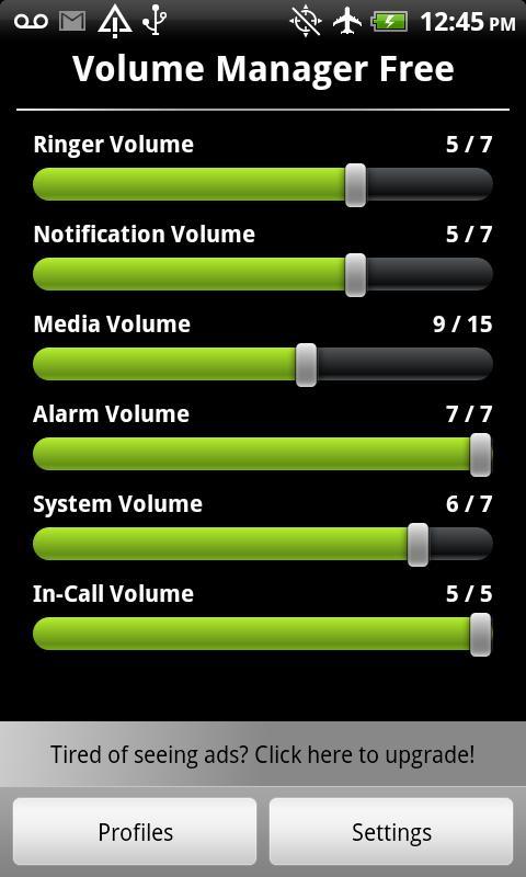 Volume Control Manager Free - screenshot