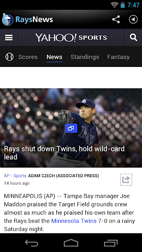 Tampa Bay Baseball News for PC