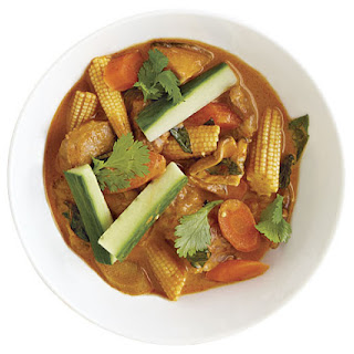 Thai Red Curry with Pork