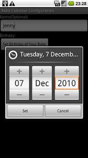 Baby Calendar First Year- screenshot thumbnail