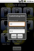 Screenshot of Alcohol Optimizer