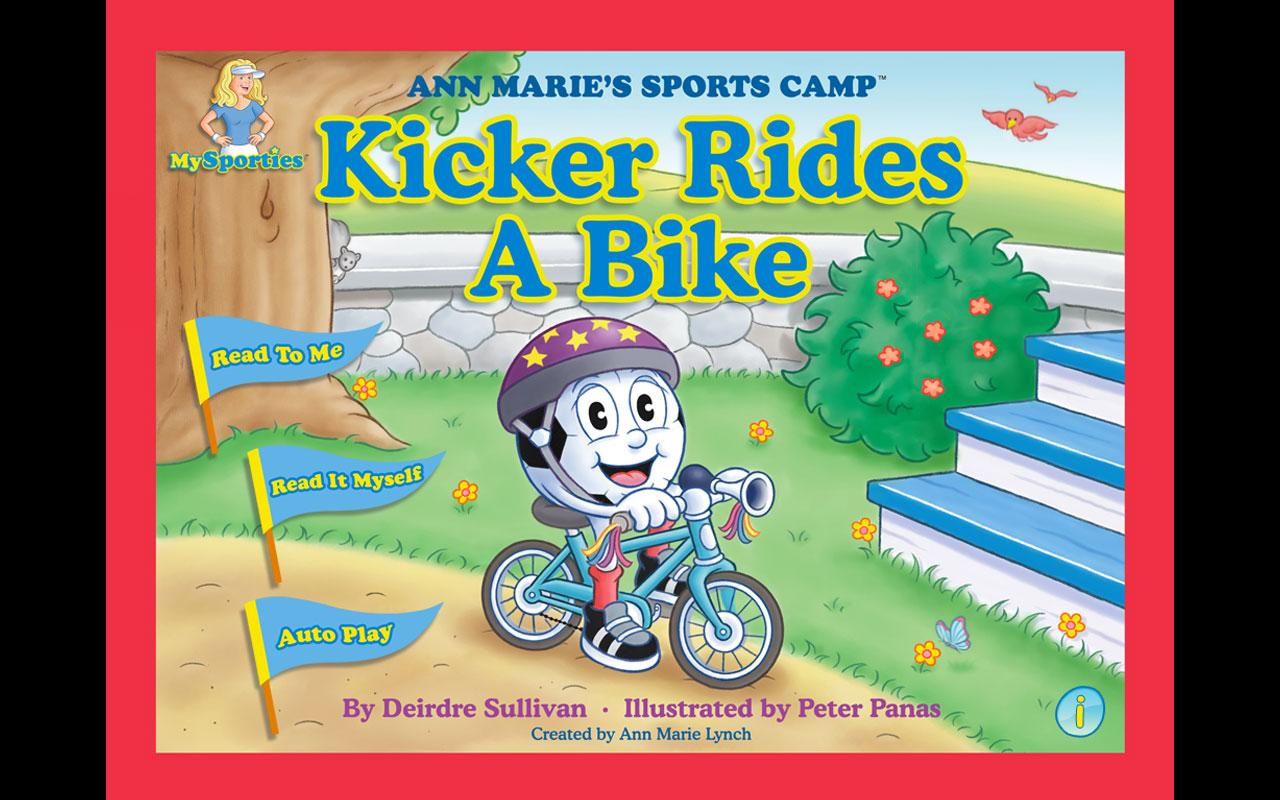 Kicker Rides a Bike - screenshot