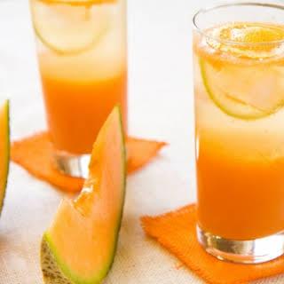 Cantaloupe-Lime Smoothie.