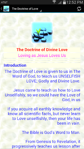 The Doctrine of Love